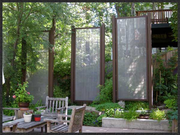 Garden Screens   Barbara Safranek Design. Freestanding ...