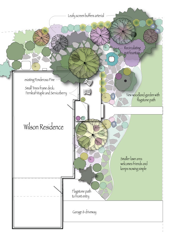 Wilson Family Front Yard Landscape Plan